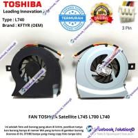 KIPAS COOLING FAN TOSHIBA Satellite L745 L700 L740 series