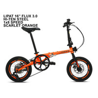 "Sepeda Lipat PACIFIC FLUX 3.0 16"" (Sepeda Lipat"