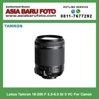 Lensa Tamron 18-200 F 3.5-6.3 Di II VC For Canon