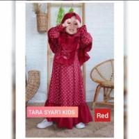 TARA Kids Baju Muslim Gamis Anak Perempuan Usia 5-6-7-8-9-10 Tahun