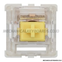 Gateron KS-9 Yellow Switch (Linear - Plate Mount)