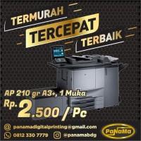Digital Printing Art Paper, AP 210gr, A3+, 1 Muka, Poster POP Bandung