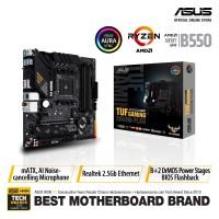 MOTHERBOARD AMD ASUS TUF GAMING B550M-PLUS AM4 mATX