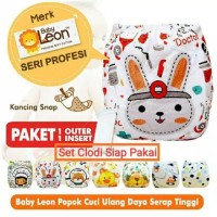 CLODI Baby Leon ORIGINAL CLOTH DIAPER Popok Bayi Cuci Pakai Ulang SNAP