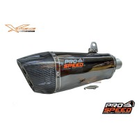 Knalpot Prospeed Black Shark Yamaha R25 / MT25 Fullsystem