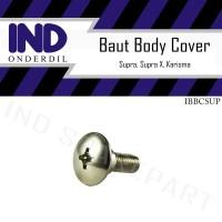 Baut-Baud Body-Bodi Cover Supra/Supra X/Karisma-Kharisma M6x12 - 6x12