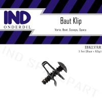 Baut Klip Body Honda Vario/Beat/Scoopy/Spacy