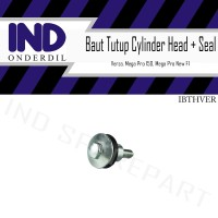 Baut-Baud Tutup Head Cover Mesin-Cylinder Mega Pro New FI-150/Verza