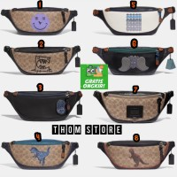 WAISTBAG COACH FANNY PACK AUTHENTIC ORIGINAL TAS SLEMPANG