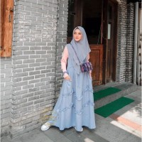 Baju gamis wanita murah syari jubah remaja dress muslimah terlaris
