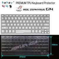 Keyboard Protector ASUS ROG Zephyrus G14 - KAKAY Premium TPU Clear