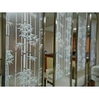 Stiker Kaca Kaca Film Pelapis Jendela Kaca New Product motif Bambu