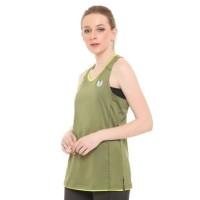 Enzoro Running Tank Top Woman Baju Tanktop Olahraga Wanita Lari Gym