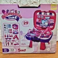 Mainan Salon Salonan Tas Koper 5 in 1 / Set Mainan Make Up Anak