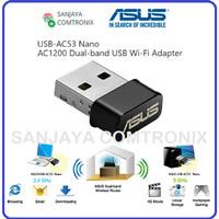 ASUS AC1200 Dual-band USB Wi-Fi Adapter USB-AC53 Nano