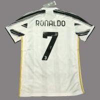 Original Jersey Juventus 2020 - 21 Home Ronaldo Baju Bola Asli