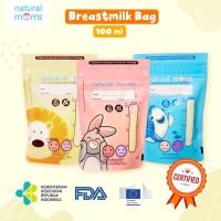 Kantong Asi Natural Moms Kantong Asi 100cc Breast Milk