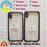 iPhone XR - XS Max Anti Slip Anti Crack Hybrid Clear Back Case