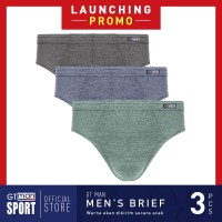 Celana Dalam Pria GT MAN GMY Isi 3 Pcs - Briefs Men Underwear