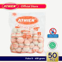 Athien - Bakso Ikan Polos B Asli Belitung / 600 gram