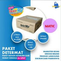 DETERMAT Bahan Detergen Cair Matic (Laundry) Hemat 1Kg Jadi 20 Liter