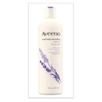 Aveeno Positively Nourishing Calming - Body Wash Lavender - 473Ml