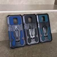 Vivo Y91 Y93 Y95 Mecha Army Military Belt Clip Stand Armor Case