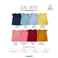 ARDENLEON Girl Shirt with Ruffle ZG.RUFF.01