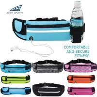 Waterproof Sport Running Belt Tas Pinggang Olaharaga Jogging Lari