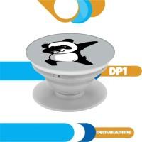 popsocket dabbing panda pop socket custom gantungan hp ring stand