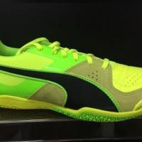 Sepatu futsal puma invicto sala original stabilo hijau 2017