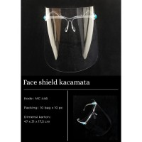 FACE SHIELD KACAMATA/ FACE SHIELD Nagita Pelindung Wajah