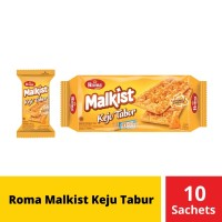 Jawa Timur - Roma Malkist Keju Tabur 10 Sachets