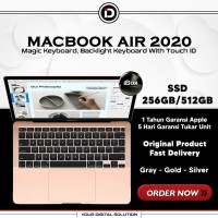 Macbook Air 2020 13.3 256GB/512GB Up to 3.2Ghz Gray Gold Silver