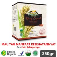 Tepung Beras Merah Organik MPASI | 250gr | Bionic Farm