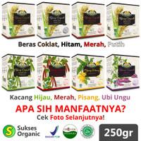 Tepung Organik MPASI | 250gr | Bionic Farm | Beras Kacang Pisang Ubi - Ubi Ungu