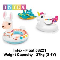 Ban renang anak Intex Deluxe Animal Ring 58221 Buaya / Monkey / Lion