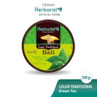 Herborist Lulur Tradisional Bali Green Tea - 200gr