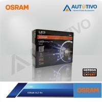 OSRAM Mobil LED Osram H4 B6204CW Lampu Utama 6000K Made In China NG