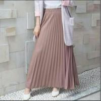 Rok Plisket Anak Tanggung-Remaja-Dewasa/Rok Plisket Premium/Maxi Skirt