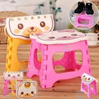 Kursi Lipat Anak Karakter / Bangku Lipat Mini Kartun / Foldable Chair