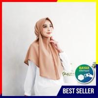 Hijab Instan Dewasa Bahan Diamond Crepe Premium - Khimar Anisa
