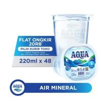 AQUA Air Mineral 220ml x 48 cup (1 box)
