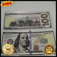 Unik Mainan Uang Dollar Tulisan mandarin untuk koleksi