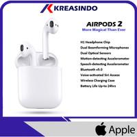 Apple AirPods 2 ( 2nd Gen ) With Charging Case Garansi Resmi