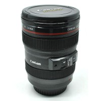 Tumbler Mug Gelas Bentuk Lensa Kamera    400 ml