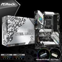 ASRock B550 Steel Legend (AMD AM4, B550, DDR4) - Motherboard