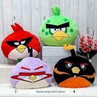 Bantal Boneka Angry Bird Yelvo Lembut bantal kursi burung mobil kantor