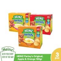 Heinz Paket Farley's Original, Apple & Orange 120G - 3 Pcs