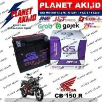 Aki Motor Honda CB 150 R GTZ7S GS Y Accu Kering MF